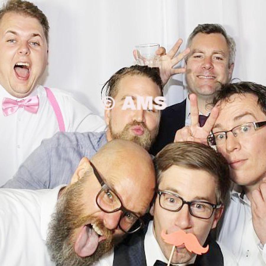 Hochzeit Party Fotobox mieten leihen Hamburg